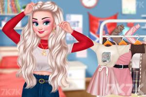 《甜系女孩穿搭》游戏画面2