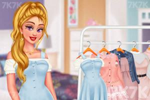 《甜系女孩穿搭》游戏画面1