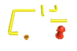 《给花儿浇水》游戏画面2