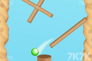 《小球旋转进洞》游戏画面1