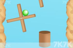 《小球旋转进洞》游戏画面2