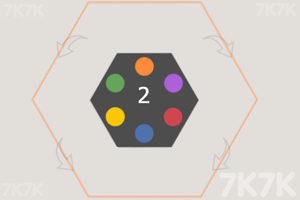 《旋转六边形》游戏画面2