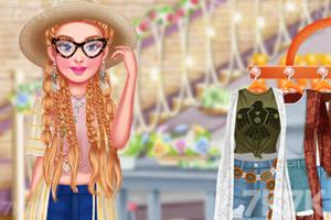 《时尚波西米亚风穿搭》游戏画面2