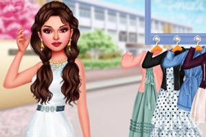 《星级时尚穿搭》游戏画面3