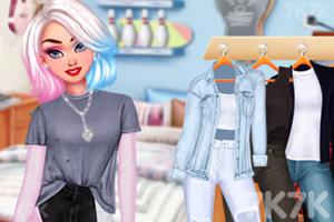《姐妹双重风格穿搭》游戏画面3