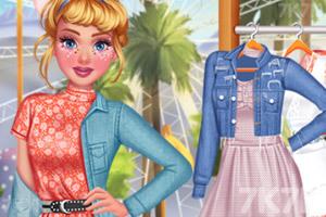 《夏日节装扮》游戏画面1