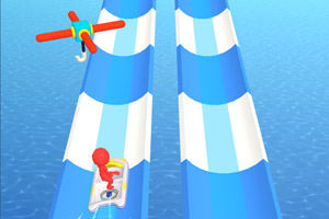 水上乐园冲浪