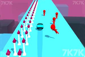 《粉碎球向前冲》游戏画面1
