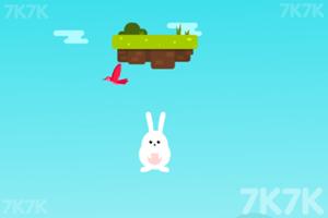 《小兔跳高》游戏画面2