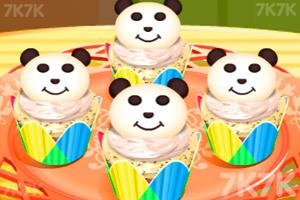 《制作小熊猫蛋糕杯》截图2