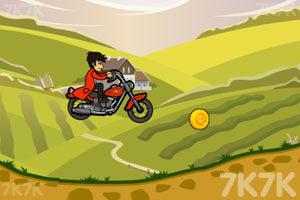 《山地摩托挑战赛》游戏画面2