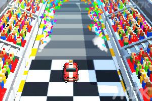 《城市賽車障礙賽》游戲畫面3