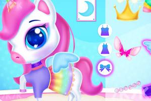 《独角兽彩虹蛋糕》游戏画面4