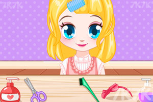 《Q妹美容小铺》游戏画面3