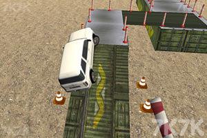 《障碍场地停车》游戏画面3