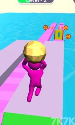 《橡皮人抛掷》游戏画面2