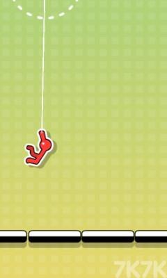 《洋火人绳子冲刺》游戏画面2