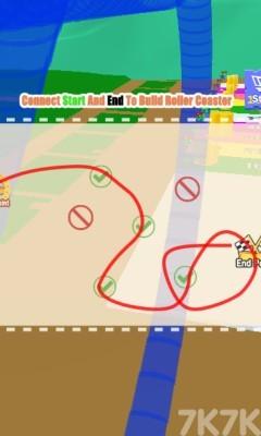 《橡皮人过山车》游戏画面1