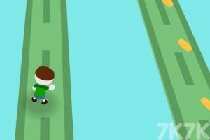 《橡皮人春季竞走》游戏画面3