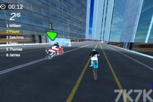 《绝技摩托赛》游戏画面2