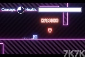 《霓虹方块冒险》游戏画面3