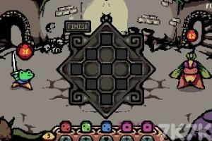 《蛙蛙勇闯地牢》游戏画面1
