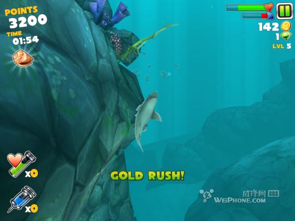 疯狂的吃货 饥饿的鲨鱼 进化