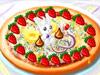 制作水果比萨