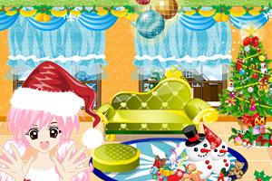 梦幻圣诞卧室