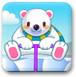 小白熊抓鱿鱼