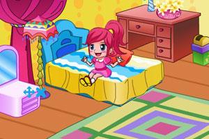 女孩的卧室