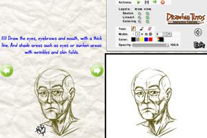 教你画老头