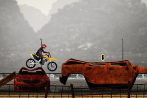垃圾场摩托特技