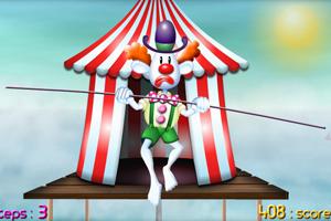 小丑走钢丝