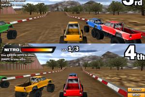 双人3D四驱车赛