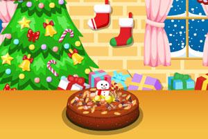 做圣诞蛋糕