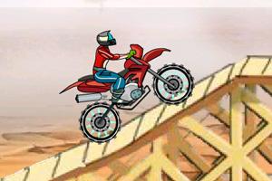 沙漠摩托特技