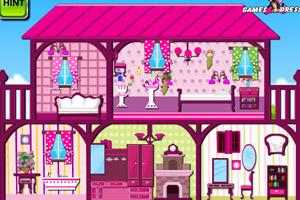 布置粉红阁楼