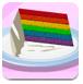 特色彩虹蛋糕