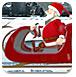 圣诞老人雪橇车