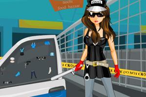 时尚女警察