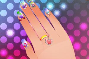 漂亮的手指甲