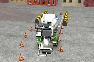 3D水泥车停车