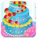 新娘做婚礼蛋糕