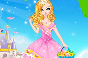 公主的时尚发型