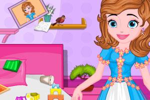 索菲亚卧室大扫除
