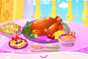 索菲亚的感恩节火鸡