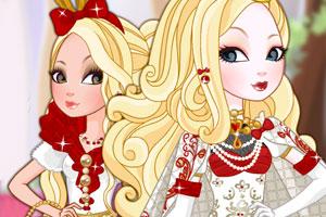 苹果公主皇家发型