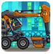 組裝機械挖掘機