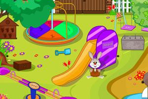 逃离可爱的儿童乐园